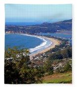 Stinson Beach  Fleece Blanket