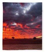 Stirling Ranges Sunrise Fleece Blanket