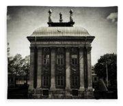 Stockholm Building Fleece Blanket