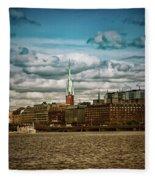 Stockholm Ix Fleece Blanket