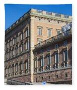 Stockholm Royal Palace  Fleece Blanket