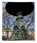 Stockholm Statue Fleece Blanket