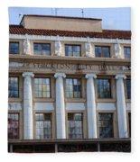 Stockton City Hall Fleece Blanket