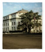 Stockton Civic Auditorium 2 Fleece Blanket