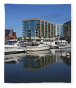 Stockton Waterscape Fleece Blanket