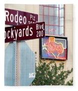 Stockyards Fort Worth 6815 Fleece Blanket