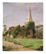 Stoke Poges Church Fleece Blanket
