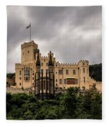 Stolzenfels Castle Fleece Blanket