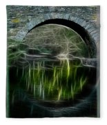 Stone Arch Bridge - Ny Fleece Blanket