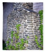 Stone Chimney Fleece Blanket
