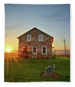 Stone House Sunrise Fleece Blanket