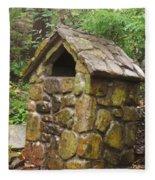 Stone Hut Fleece Blanket