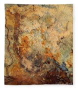 Stone Maps Fleece Blanket