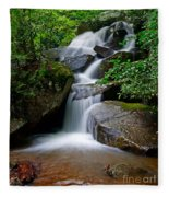 Stone Mountain Falls Fleece Blanket