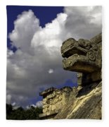 Stone Sky And Clouds Fleece Blanket