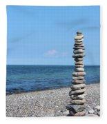 Stone Towers Fleece Blanket