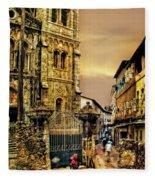 Stone Town, Zanzibar Fleece Blanket