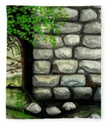 Stone Tunnel Fleece Blanket