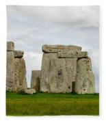 Stonehenge Monument Fleece Blanket