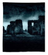 Stonehenge Mood Fleece Blanket