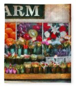 Store - Westfield Nj - The Flower Stand Fleece Blanket