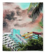 Storm Approaching Fleece Blanket