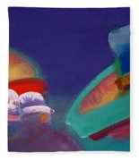 Storm Horizon Fleece Blanket