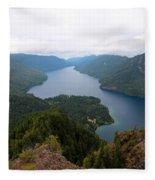 Storm King Trail Six Fleece Blanket