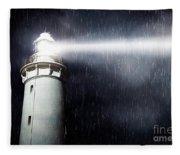 Storm Searchlight Fleece Blanket
