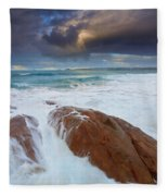 Storm Tides Fleece Blanket