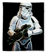 Storm Trooper Fleece Blanket