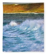 Storm Wave Fleece Blanket