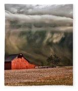 Storm's Coming Fleece Blanket