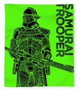 Stormtrooper - Green - Star Wars Art Fleece Blanket