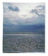 Stormy Beach Beauty Fleece Blanket