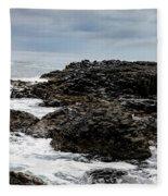 Stormy Giant's Causeway Fleece Blanket