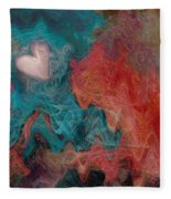 Stormy Love Fleece Blanket