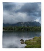 Stormy Morning At Dillon Fleece Blanket