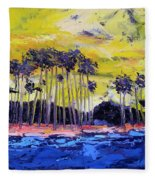 Stormy Shores Fleece Blanket