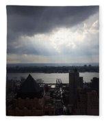 Stormy Sky Fleece Blanket