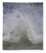Stormy Surf Fleece Blanket