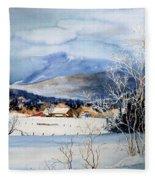 Stowe Valley Farm Fleece Blanket