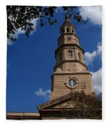 St.philips Church Charleston Sc Fleece Blanket