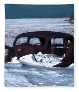 Stranded Fleece Blanket