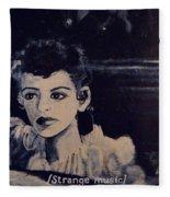 Strange Music Fleece Blanket