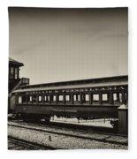 Strasburg Rail Road Fleece Blanket
