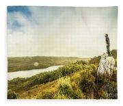 Strathgordon Tasmania Adventurer Fleece Blanket