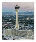 Stratosphere Casino Hotel And Tower Fleece Blanket