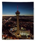 Stratosphere Casino Hotel  Fleece Blanket