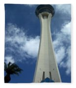 Stratosphere Tower Fleece Blanket